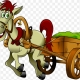 horse-drawn-vehicle-cart-clip-art-png-favpng-5TJbAxdTRivWS4hfHNtU2VcBF-1