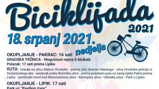 Pakrac biciklijada plakat (1)